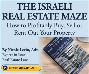 Buy The Israeli Real Estate Maze on Amazon Now